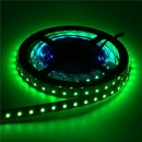 LPD8806 Streifen Strip LED RGB Stripe IP20 60 LEDs/m - 30 ICs/m - Schwarz - Meterware