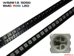 100 Stück WS2812 LED RGB SMD 5050 mit WS2811 Controller